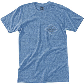 Hippy Tree Diamondhead T-Shirt Homme, heather light blue